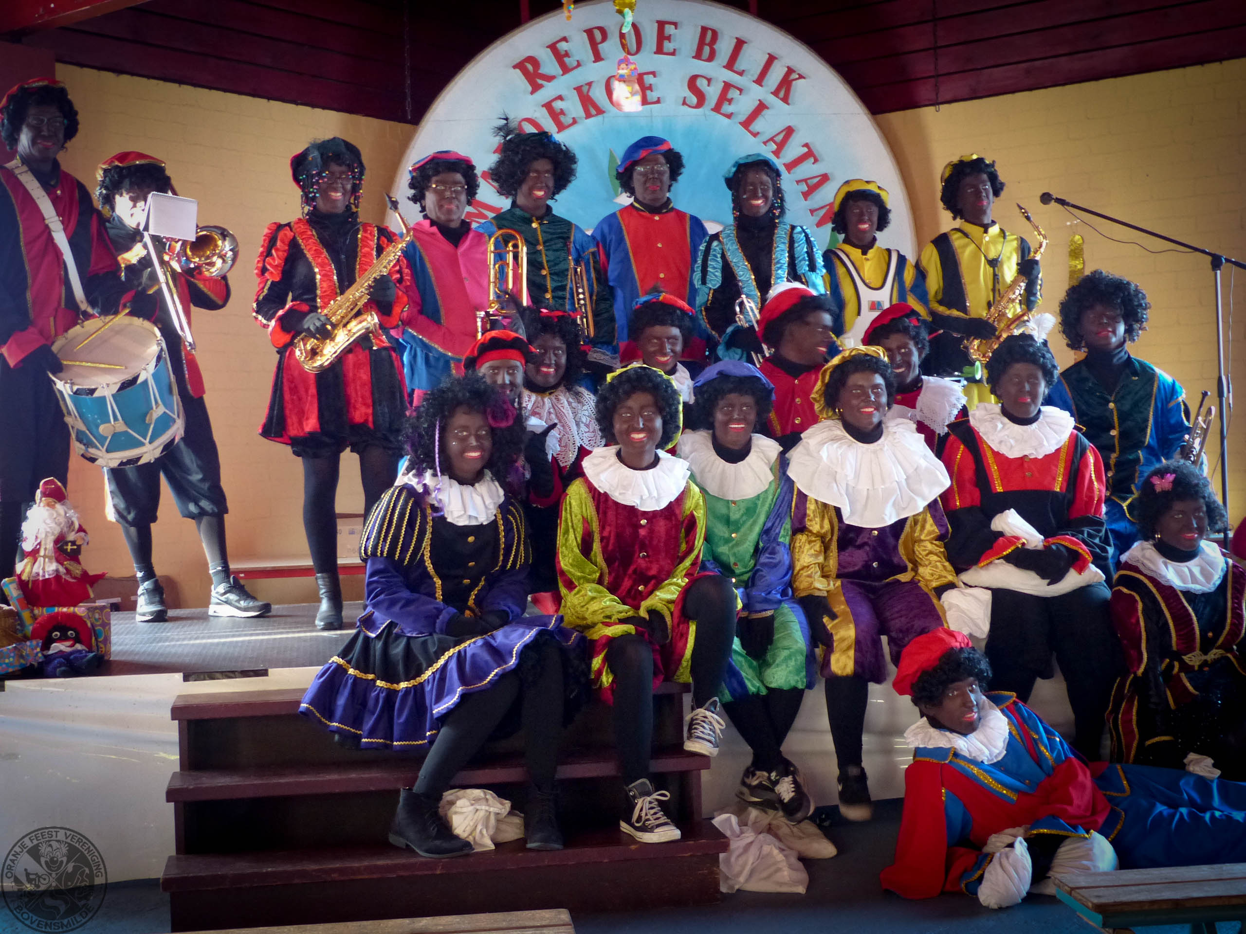 Sinterklaas Intocht 2016 Oranje Feest Vereniging Bovensmilde
